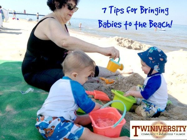 babies beach twins