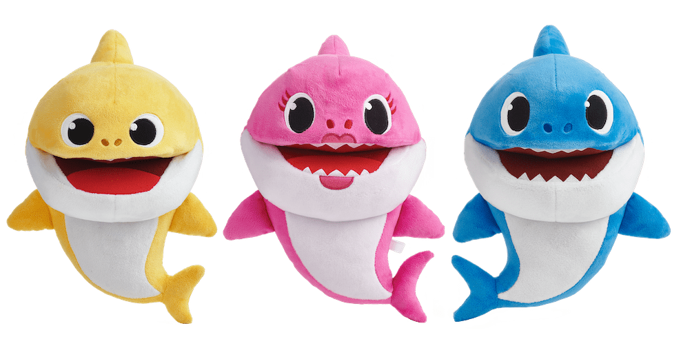 baby shark puppet hot toys for twins 2019