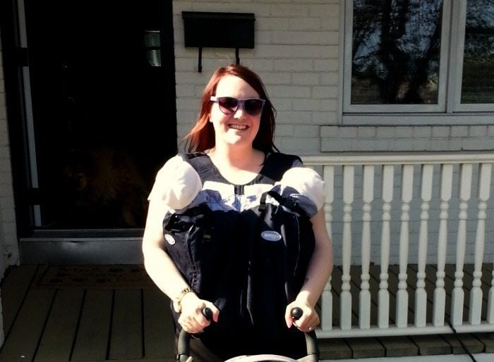 Two Close to the Heart: Baby Wearing Twins