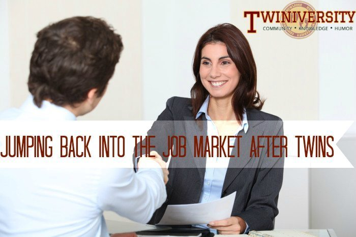 Jumping Back Into the Job Market After Twins