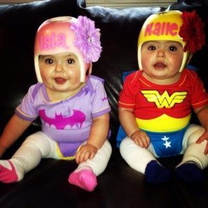 Batgirl and Supergirl  sc 1 st  Twiniversity & Halloween Costumes for Twins or More! - Twiniversity