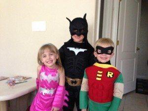 Batman, Robin & Batgirl
