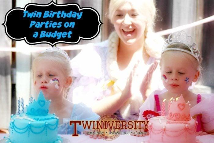 Twin Birthday Parties On A Budget Twiniversity