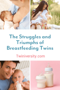The Struggles and Triumphs of Breastfeeding Twins