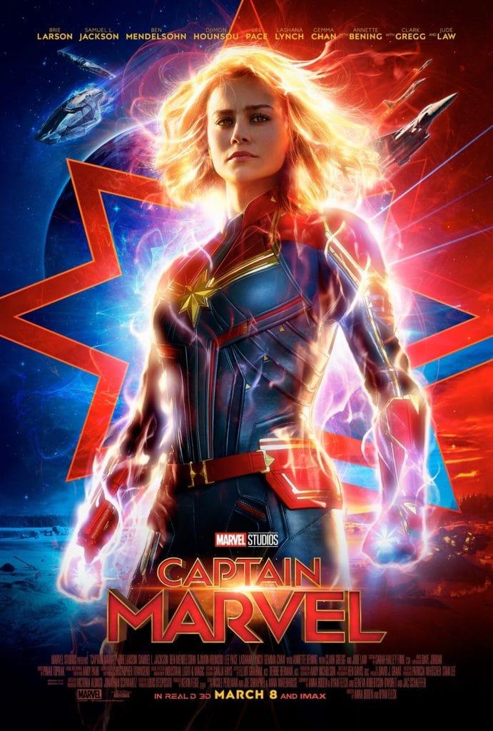 captain marvel poster #marvelousmom