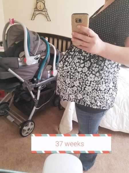 stroller and pregnant mom weird pregnancy symptoms