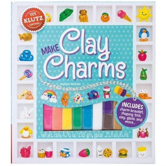 Klutz Make Clay Charms Craft Kit Target