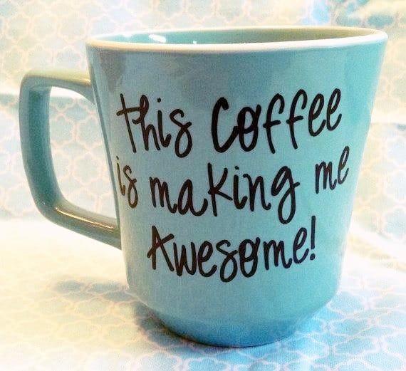 coffee mug always tired