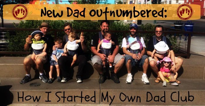 New Dad Outnumbered: How I Started My Own Dad Club