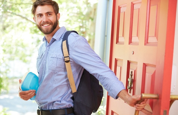 dad leaving house partner in parenting