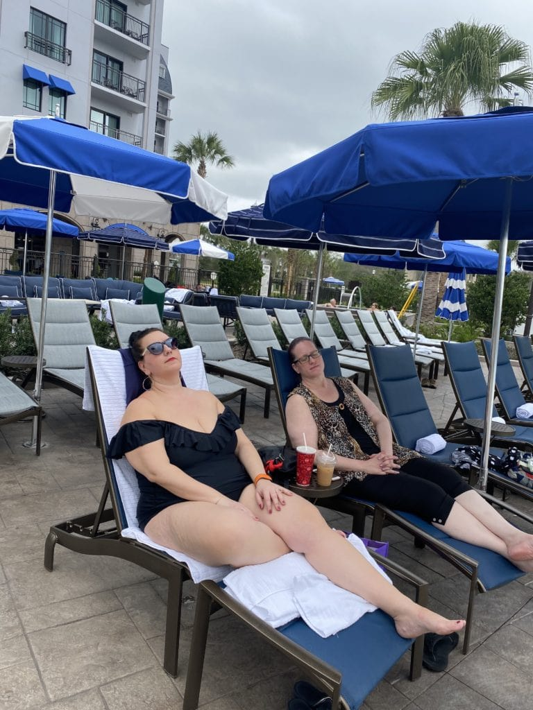 Disney's Riviera Resort Poolside