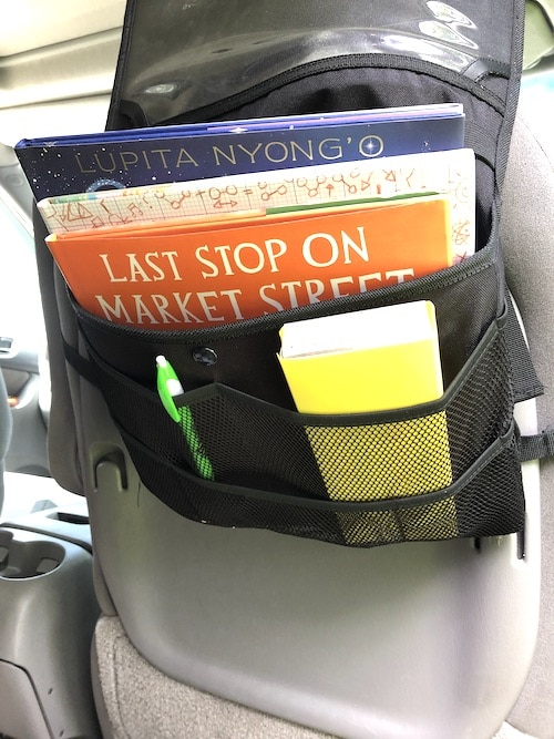 books to diversify in a car organizer