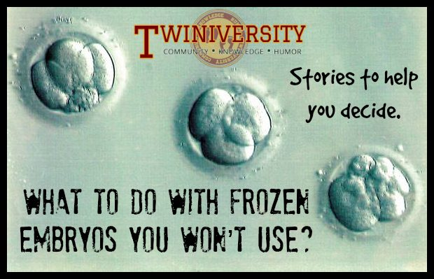 What Should I Do With Frozen Embryos I Won T Use