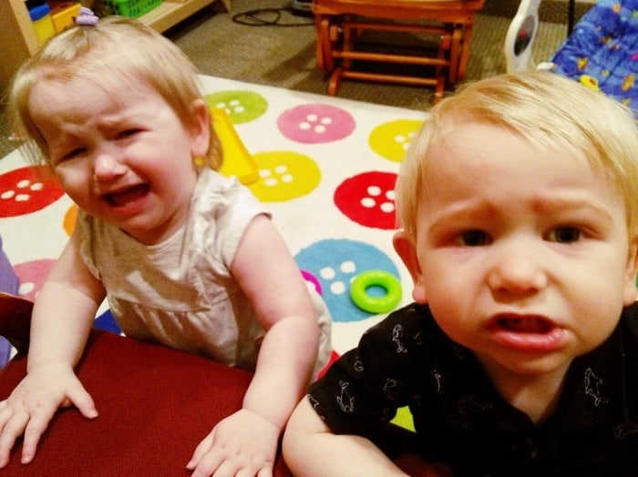 toddler twins crying get easier