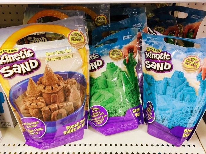 kinetic sand Easter Baskets Without Candy