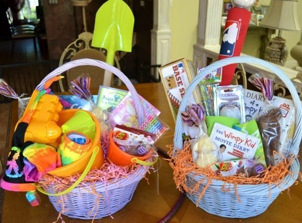 Easter basket ideas for little kids twiniversity easter is almost here and like most moms of multiples i have a limited budget for the childrens easter baskets its time for me to stop pining over the negle Images