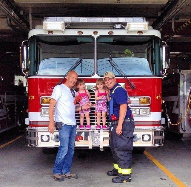 Always Putting Out Fires: A Day in the Life of a Firefighting Twin Dad