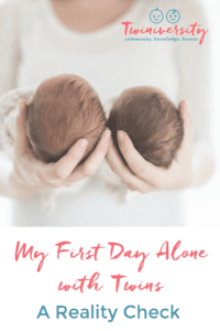 alone with twins