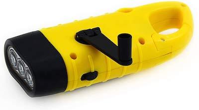hand crack flashlight stocking stuffers for kids