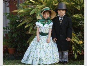 Scarlett & Rhett Butler from Gone With the Wind