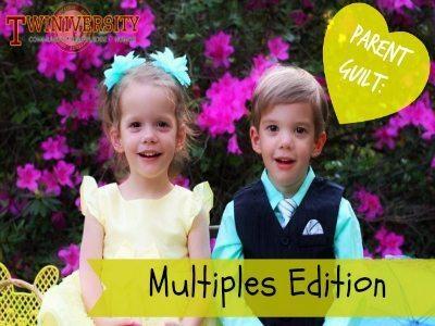 Parent Guilt: Multiples Edition