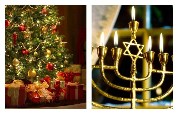 Hanukkah + Christmas: How an Interfaith Family Blends the Holidays