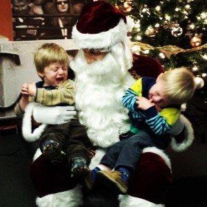 holidaychristmassantatwins