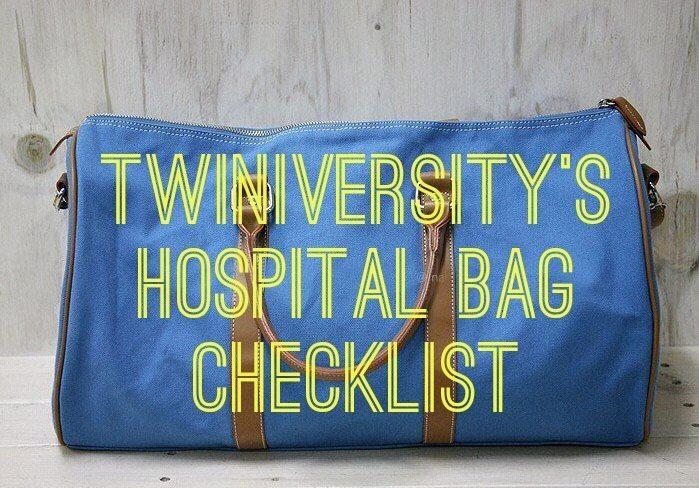Twiniversity Hospital Bag Checklist