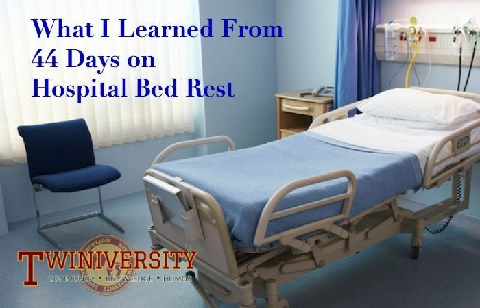 what i learned from 44 days on hospital bed rest