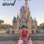 Taking Twins to Disney World Alone