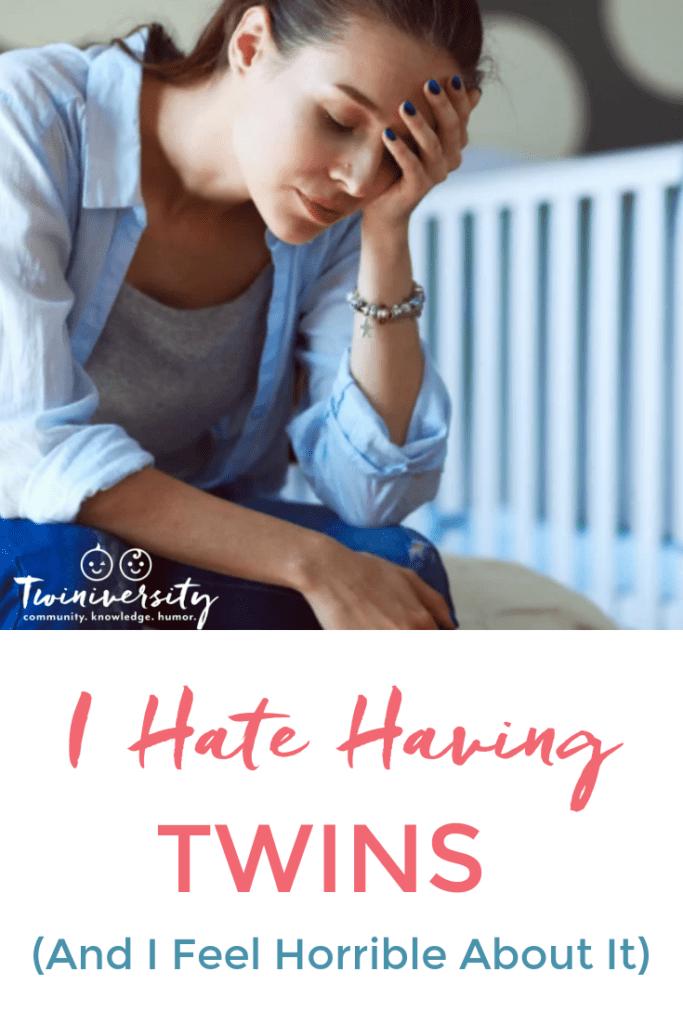i hate having twins