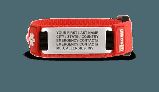 child ID bracelet twin travel
