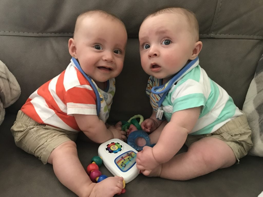 baby twin boys sleep training your twins