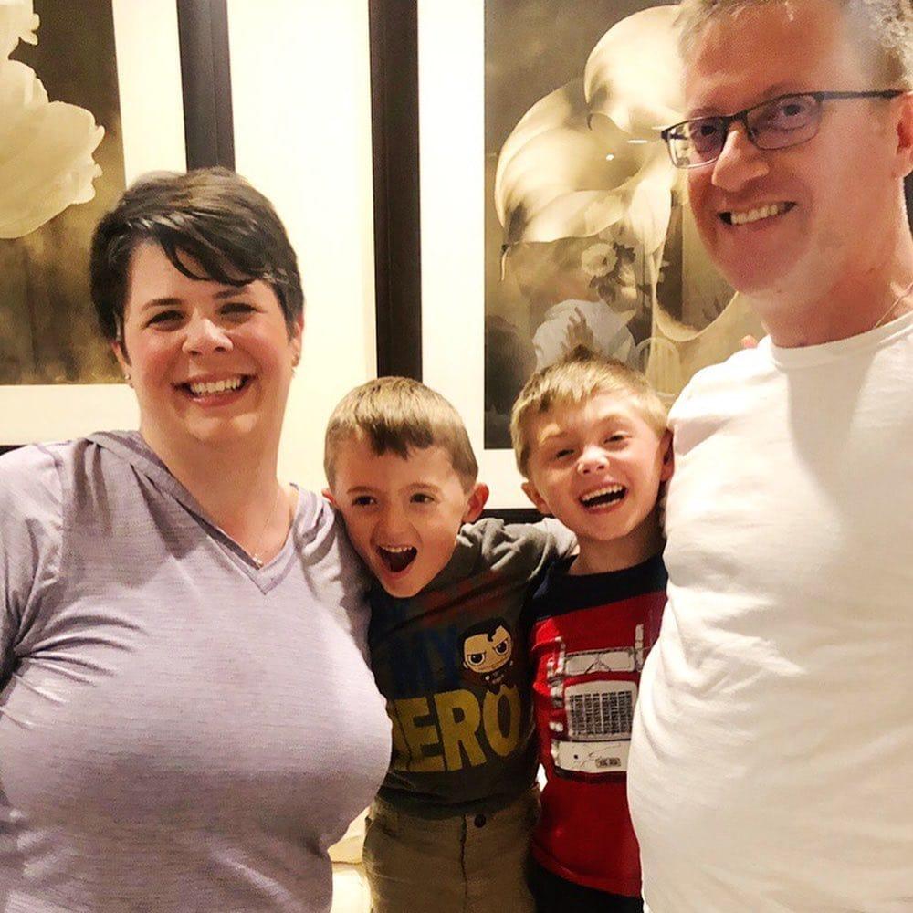 julie burt nichols family