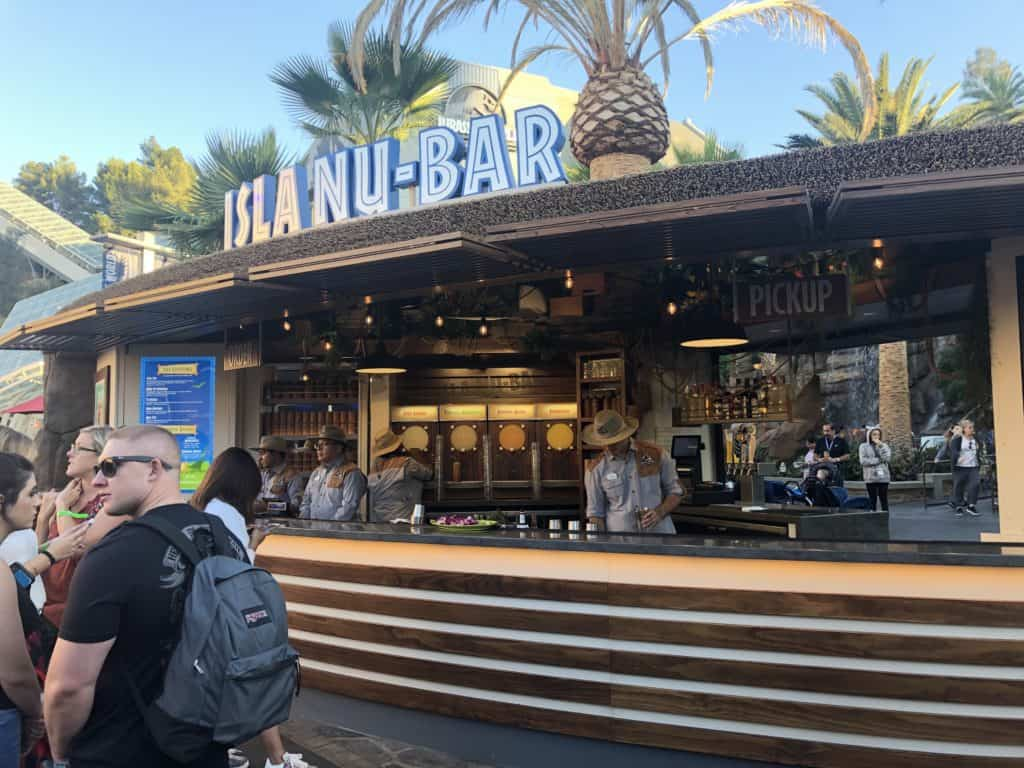 Isla Nu-Bar in Universal Studios Hollywood
