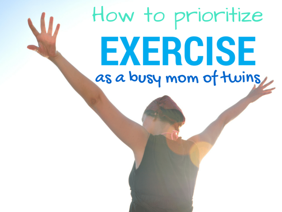 How to Prioritize Exercise as a Busy Twin Mom