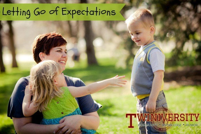 Letting Go of Your Own Parenting Expectations
