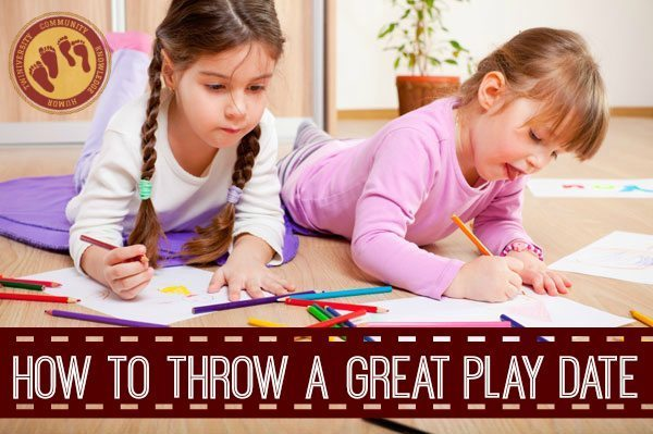 How to Throw a Great Play Date