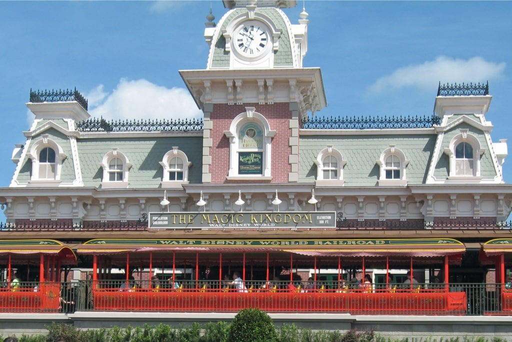 train station magic kingdom