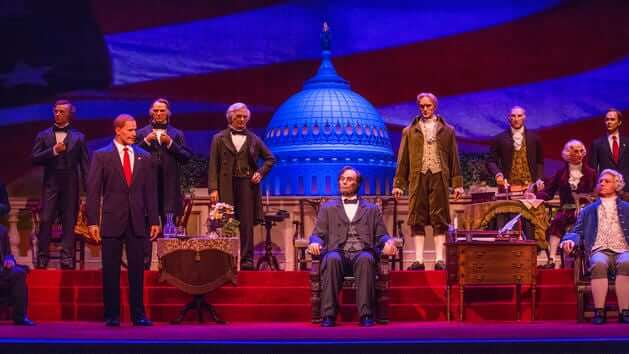 hall of presidents magic kingdom