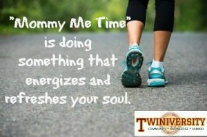 me time mom walking exercise