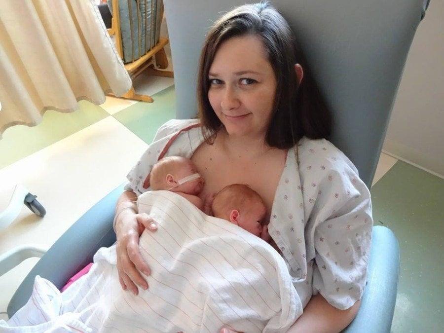 My Journey to Breastfeed NICU Twins