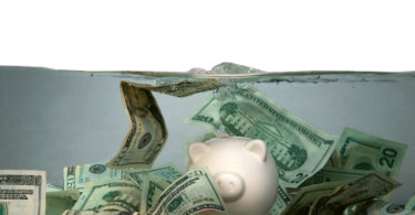 money under water financial crisis