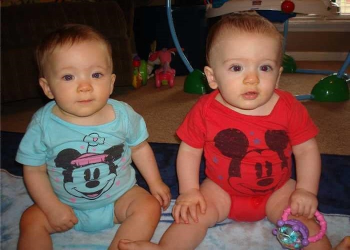 The First Year with Twins 9 Months Old