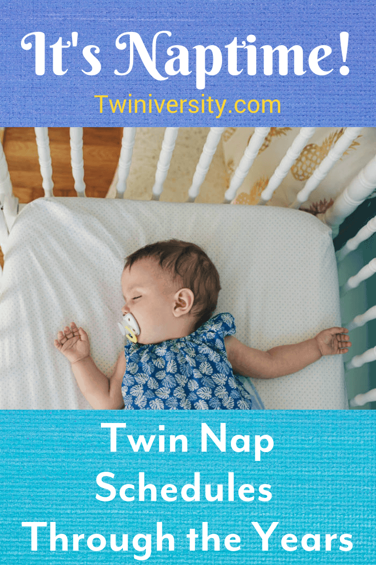 nap schedule for twins