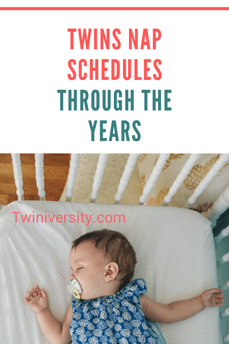 It's Naptime! Twins Nap Schedules Through the Years