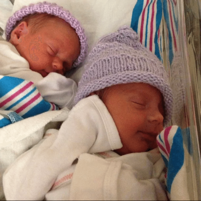 triumphs of breastfeeding twins