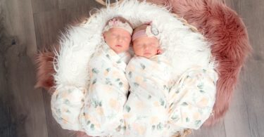 pros and cons of twins newborn twins in basket