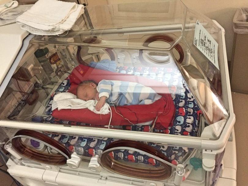 nicu incubator time in the nicu