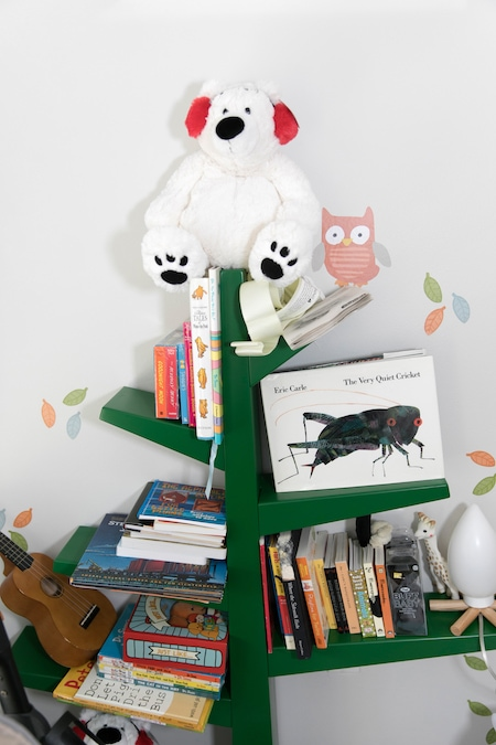 book shelf in kids room nursery planning tips for twins